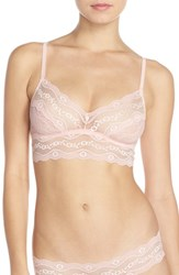 Women's B.Tempt'd By Wacoal 'Lace Kiss' Bralette Crystal Rose