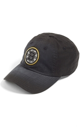 American Needle 'Boston Bruins Luther' Snapback Cap Black Yellow