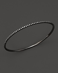 Kc Designs Diamond Bangle In Black Rhodium Plated 14K White Gold