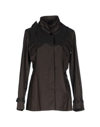 Caractere Jackets Dark Brown