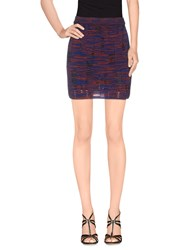 M Missoni Skirts Mini Skirts Women Blue