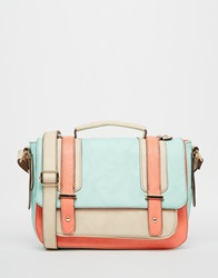 Oasis Suzy Colourblock Satchel Mu1