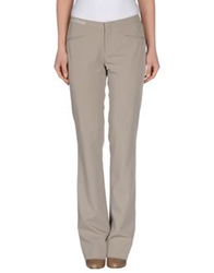 Pt0w Casual Pants Dove Grey