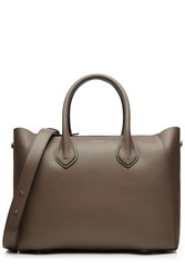 Michael Kors Collection Leather Tote Grey