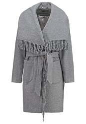 Miss Selfridge Short Coat Grey