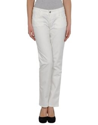 Fornarina Casual Pants White