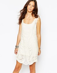 Goldie Day Dreaming Embroidered Dress With Slip Ivory