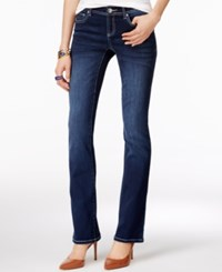 Inc International Concepts Petite Bootcut Spirit Wash Jeans Only At Macy's
