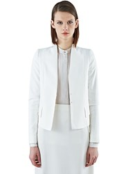 Ilaria Nistri Slim Tailored Jacket White