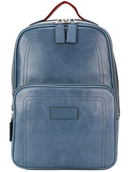 Bally 'Transfer' Backpack Blue