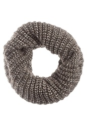 Replay Snood White Brown