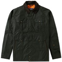 Barbour X White Mountaineering Crux Wax Jacket Green