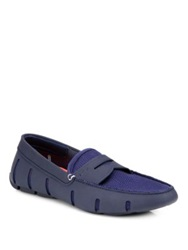 Swims Penny Loafers Navy