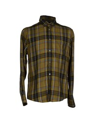 Marc By Marc Jacobs Shirts Shirts Men Military Green