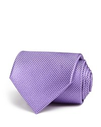 The Men's Store At Bloomingdale's Tonal Micro Pattern Classic Tie Purple