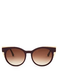 Thierry Lasry Monogamy Cat Eye Sunglasses Purple