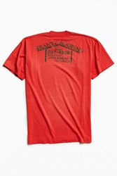 Urban Outfitters Vintage Roofing Tee Red