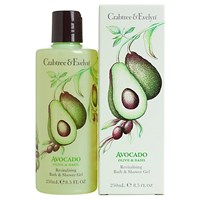 Crabtree And Evelyn Avocado Olive And Basil Bath And Shower Gel 250Ml