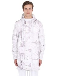 Underwaterlove Whitemilano Highsnobiety Nilmance Nylon Printed Rain Coat