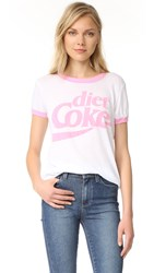 Wildfox Couture Diet Coke Tee Clean White Dream House