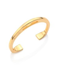 Giles And Brother Stirrup Cuff Bracelet Goldtone
