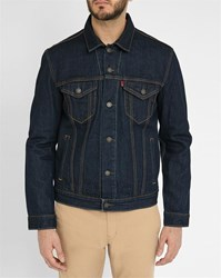 Levi's Dark Denim Trucker Shirt