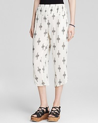 Free People Pants Printed Gauze Diamond Harem Tea Combo
