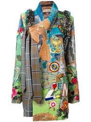 Vivienne Westwood Patches Wrapped Coat