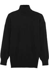Tom Ford Cashmere And Silk Blend Sweater Black