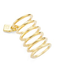 Uno De 50 Prisionero Ring Set Gold