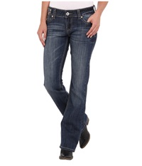 Stetson 818 Hollywood Fit Stones Flaps Blue Women's Jeans
