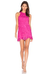 Lovers Friends X Revolve Caspian Shift Dress Fuchsia