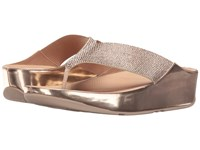 Fitflop Crystall Toe Post Rose Gold Women's Sandals