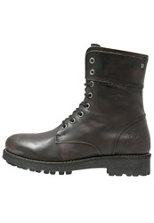 Sneaky Steve Locker Laceup Boots Charcoal Grey