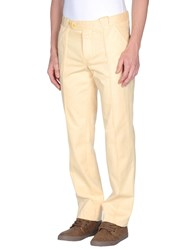 Barba Trousers Casual Trousers Men Yellow