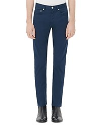 Sandro Pixies Feather Straight Jeans In Beige Petrole