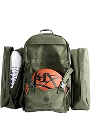 K1x On A Mission Nylon Canvas Backpack