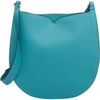 Valextra Women's Weekend Hobo Green