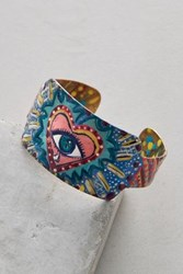 Anthropologie Rise Above Cuff Pink