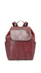 Frye Casey Backpack Wine