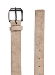 Topman Brown Washed Stone Faux Leather Belt