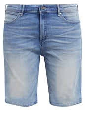 Wrangler Denim Shorts Moonflower Light Blue