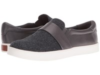 Dr. Scholl's Scout Strap Original Collection Dark Charcoal Fabric Women's Shoes Gray