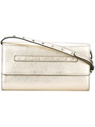 Red Valentino Star Studded Shoulder Bag Metallic
