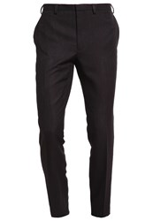 Burton Menswear London Suit Trousers Black