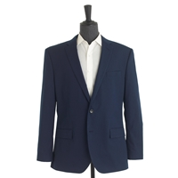 J.Crew Crosby Suit Jacket In Italian Cotton Pique French Navy