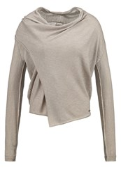 Khujo Indria Cardigan Light Taupe Camel