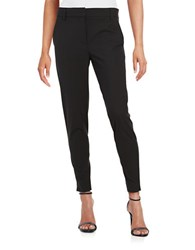 Dkny Cropped Wool Blend Pants Black
