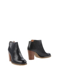Sessun Ankle Boots Black