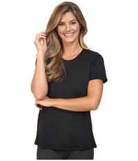 Skirt Sports Free Flow Tee Black Women's T Shirt